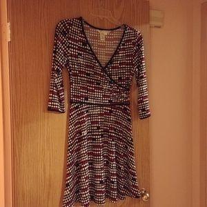 Max Studio Print Dress